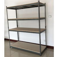 C-Channel rivet shelving